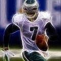 Michael Vick - Philadelphia Eagles Quarterback by Paul Ward