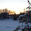 Mid January Winter Sunrise by Kent Lorentzen