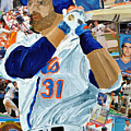 Mike Piazza by Michael Lee