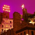 Mill City At Night by Heidi Hermes