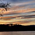 Mill Creek Lake Sun Set by Todd Hostetter