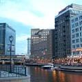 Milwaukee River Walk by Anita Burgermeister