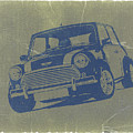 Mini Cooper Print by Naxart Studio