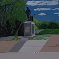 Minuteman Memorial by William Demboski