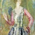 Miss Nancy Cunard by Ambrose McEvoy
