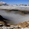 Mist On Ardiden Range by Frederic Vigne