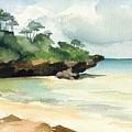 Mombasa Beach by Stephanie Aarons