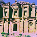 Monastery At Petra by Dominic Piperata