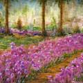 Monet's Garden In Cannes by Jerome Stumphauzer