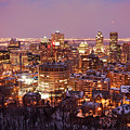 Montreal City Lights by Pierre Leclerc Photography