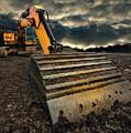 Moody Excavator by Meirion Matthias