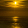 Moon Over Pacific by Dale Stillman