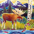 Moose On Trout Creek by Harriet Peck Taylor