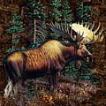 Moose Vignette by JQ Licensing