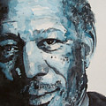 Morgan Freeman by Paul Lovering