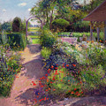Morning Break In The Garden by Timothy Easton