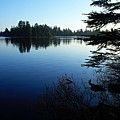 Morning On Chad Lake by Larry Ricker