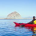 Morro Bay Kayaker by Bill Brennan - Printscapes