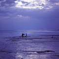Mother and Child at Dusk on Koh Phangan