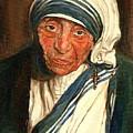 Mother Teresa  by Carole Spandau