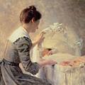 Motherhood by Louis Emile Adan