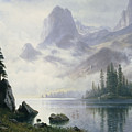 Mountain Out Of The Mist by Albert Bierstadt