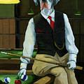 Mr. Thomas Tudor - Great Dane Portrait by Linda Apple