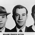 Mug Shots Of Willie Sutton 1901-1980 by Everett