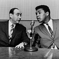 Muhammed Ali And Howard Cosell by Everett