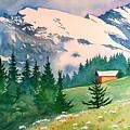 Murren Switzerland by Scott Nelson