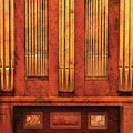 Music - Organist - Skippack  Ville Organ - 1835 by Mike Savad