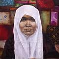 Muslim Woman by Ixchel Amor