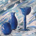 My Blue Vases by J R Seymour