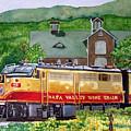 Napa Wine Train by Gail Chandler