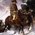 Napoleon Crossing The Alps by Hippolyte Delaroche