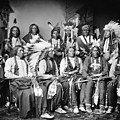 Native American Delegation, 1877 by Granger