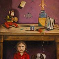 Naughty Child by Leah Saulnier The Painting Maniac
