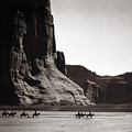 Navajos: Canyon De Chelly, 1904 by Granger