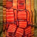 Ned Kelly Gang Art - Sunset Killers by Joan Kamaru