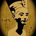 Nefertiti Egyptian Queen by Georgeta  Blanaru