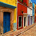 Neighbors Of The Yellow House by Mexicolors Art Photography
