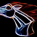 Neon Bronco II by Shane Bechler