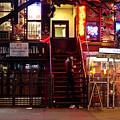 Neon Lights - New York City At Night by Vivienne Gucwa