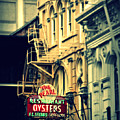 Neon Oysters Sign by Perry Webster
