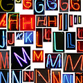 neon series G through N by Michael Ledray