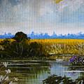 New Jersey Marsh by Karon Melillo DeVega