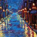 New Orleans Bourbon Street by Debra Hurd