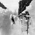 New York: Blizzard Of 1888 by Granger