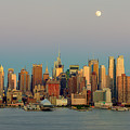 New York City Moonrise I by Clarence Holmes