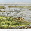 New York Harbor, 1872 by Granger